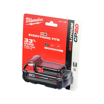 FREE Milwaukee M18 2.0 Ah Battery